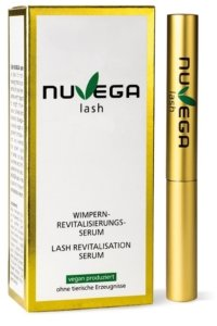 Nuvega-Wimpernserum-Test